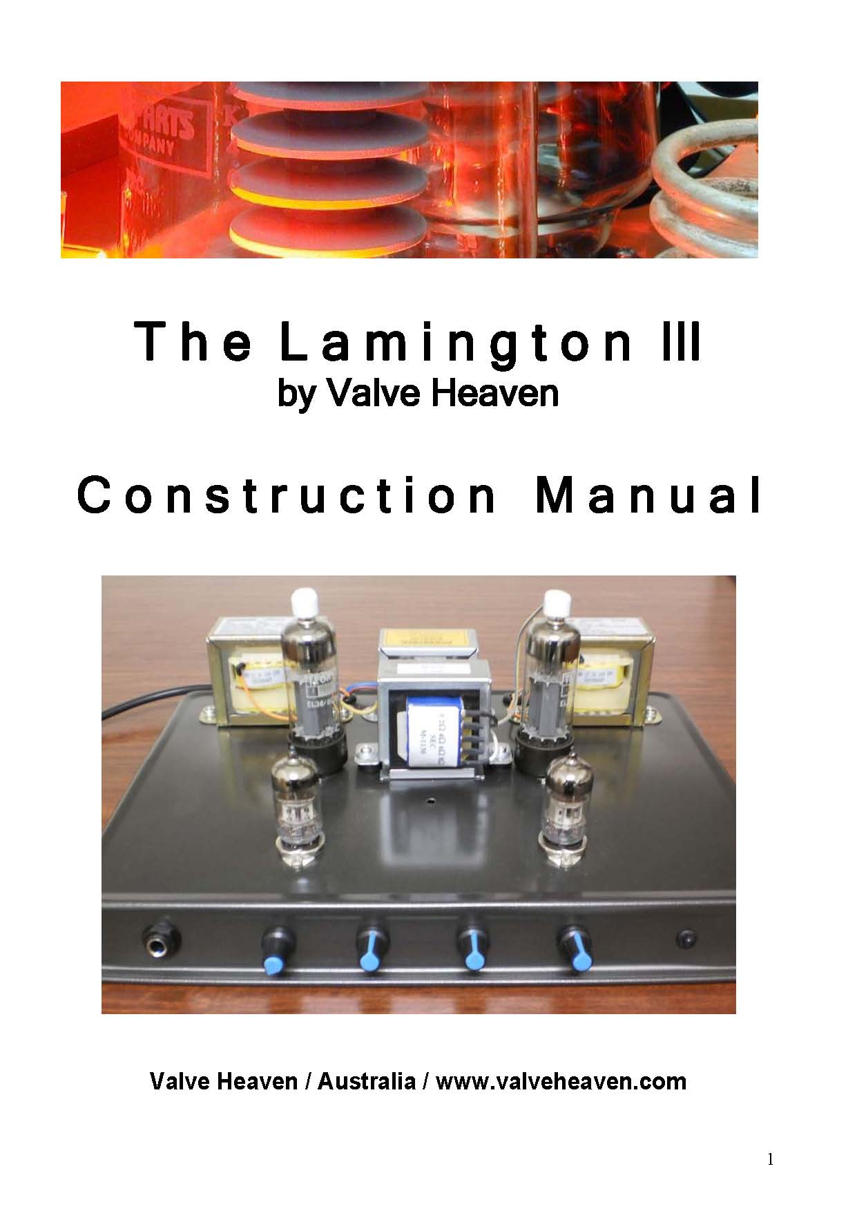 Construction Manual Lamington III