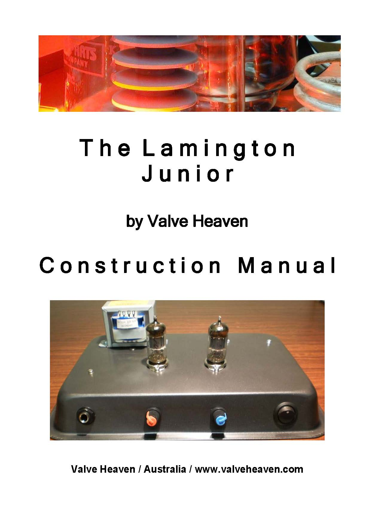 Lamington Jnr Construction Manual Cover